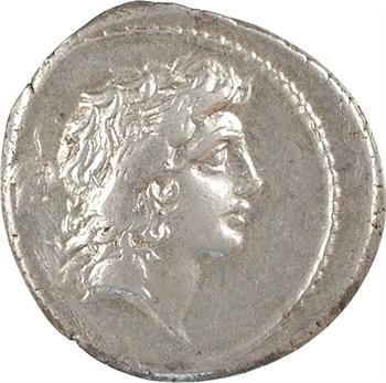 Plaetoria, denier, Rome, 69 av. J.-C.