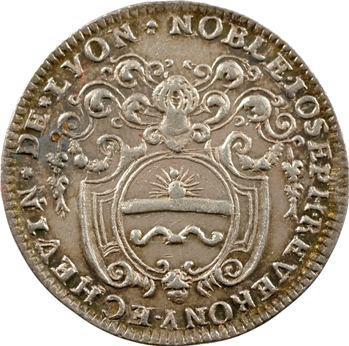 Lyonnais, Lyon (ville de), Joseph Reverony, échevin, s.d. (1723)