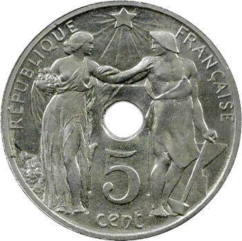 IIIe République, essai de 5/10 centimes par Varenne, 1912 Paris