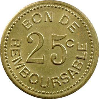 Comores, Société anonyme de la Grande Comore, essai de 25 centimes, s.d. (1915)