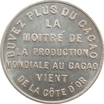 Côte d'Or (Ghana-Côte d'Ivoire), médaille cacao, 1925