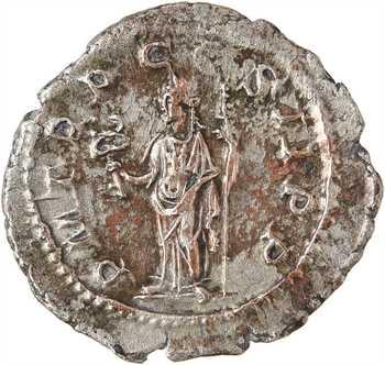 Pupien, denier, Rome, 238