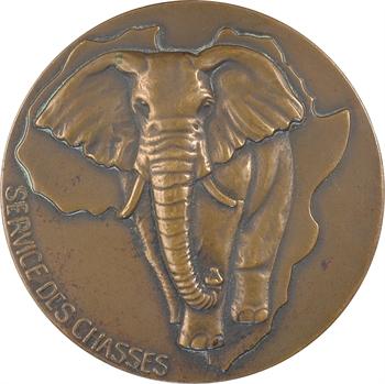 Afrique, le Service des chasses, s.d