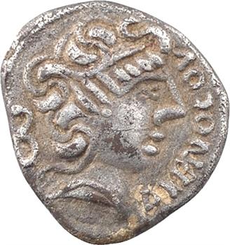 Éduens, Dumnorix, denier ou quinaire DVBNOCOV / DVBNOREX, classe II, avant 54 av. J.-C