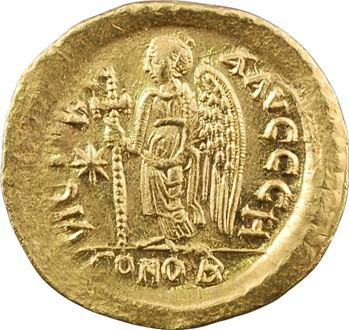Anastase, solidus, Constantinople, 8e officine, 491-498
