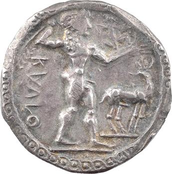 Bruttium, Caulonia, statère, c.525-500 av. J.-C.