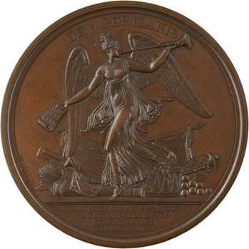 Premier Empire, députation des maires de Paris à Schönbrunn (remise des drapeaux), 1805 Paris
