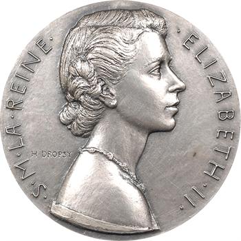 IVe République/Royaume-Uni, couronnement d'Elizabeth II, 1953 Paris