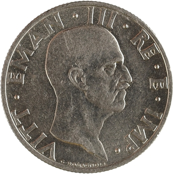 Italie (royaume d'), Victor-Emmanuel III, 50 centesimi, 1936 Rome