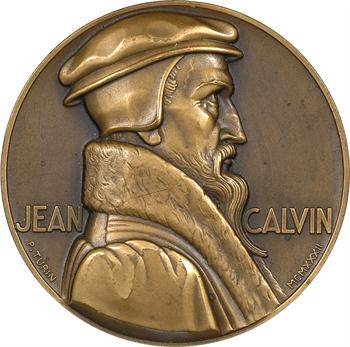 Turin (P.) : Jean Calvin, IVe centenaire de l'Institution Chrétienne, 1935 Paris