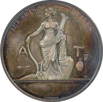 Louis XVIII, Aux Arts utiles par Gayrard, s.d. Paris