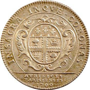 Paris, corporation des orfèvres-bijoutiers, 1700 Paris