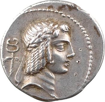 Calpurnia, denier, Rome, 67 av. J.-C.