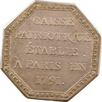 Constitution, Caisse patriotique de Paris, 1791 Paris