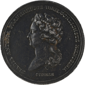 Marie-Antoinette, mort de la Reine, par Stierlé, 1793 Berlin
