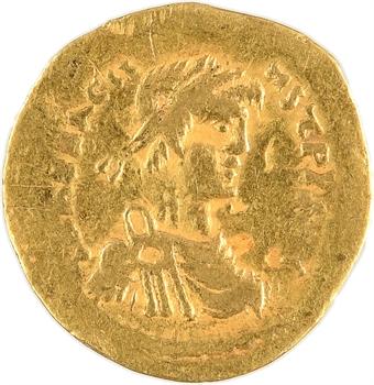 Héraclius, semissis, Constantinople, 610-613