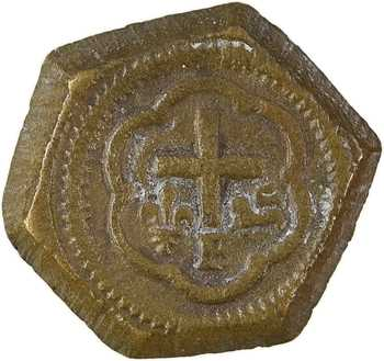 Henri VI, poids monétaire du salut d'or, s.d