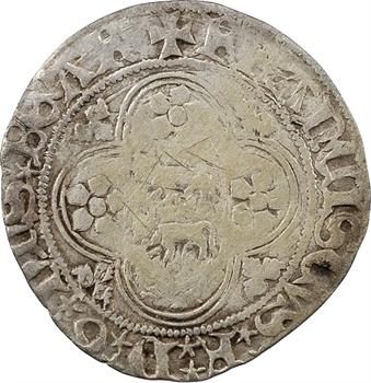 Béarn (seigneurie de), François Phébus, blanc, s.d. (1479-1483)