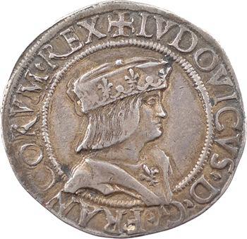 Louis XII, teston d'argent, s.d. (1499-1512) Milan
