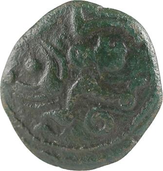 Ambiens, bronze aux chevaux affrontés, c.Ier s. av. J.-C.