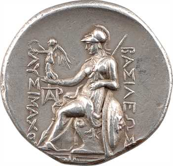 Thrace (Royaume de), Lysimaque, tétradrachme, Magnésie du Méandre, 297-281 av. J.-C.