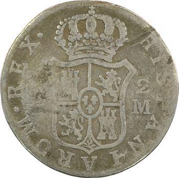 Espagne, Charles III, 2 réaux, 1788 Madrid