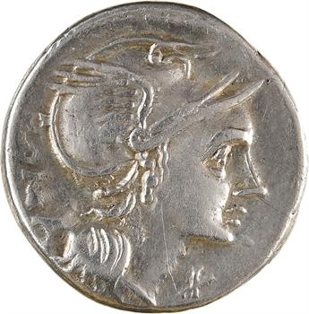 Flaminia, denier, Rome, c.109-108 av. J.-C