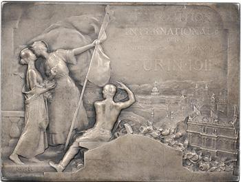 Italie, Turin, Exposition Internationale, par Dautel, 1911 Paris