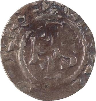 Tours, au nom de Charles le Chauve, denier immobilisé, s.d. (avant 980) Tours
