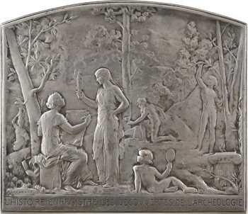 Lechevrel (A.) : l'Histoire enregistre les découvertes de l'Archéologie, 1905 Paris SAMF N° 23