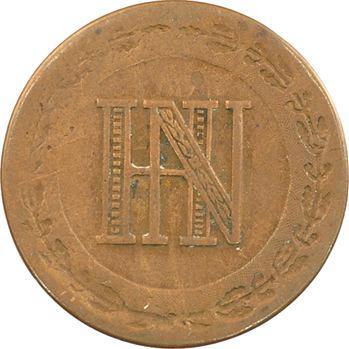 Allemagne, Westphalie (royaume de), Jérôme Napoléon, 2 centimes, 1812 Cassel