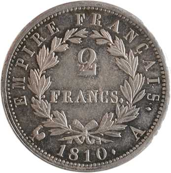 Premier Empire, 2 francs Empire, 1810 Paris