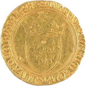 Louis XI, écu d'or au soleil, Saint-Lô
