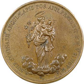 Louis XVIII, séminaire de Saint Sulpice, 1820 Paris