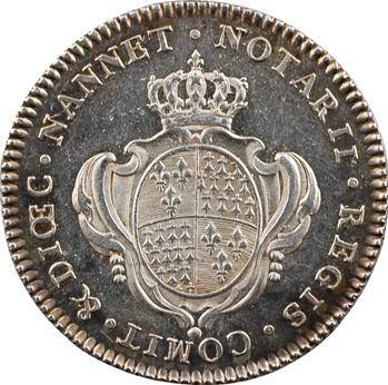 Bretagne, Nantes (notaires royaux de), Louis XVI, s.d