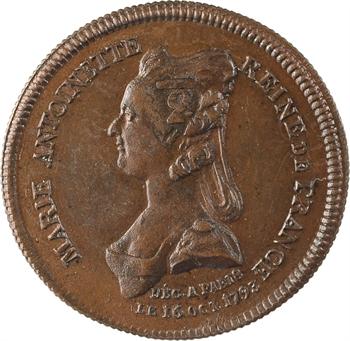 Marie-Antoinette, mort de la Reine et mort du Dauphin Louis (XVII), 1793 (Restauration ?) Paris