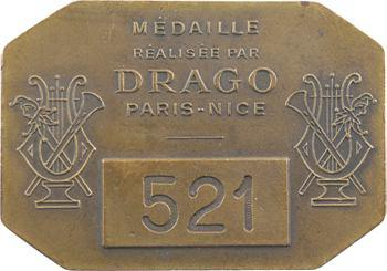 IIIe République, Théâtre National de l'Opéra, par Drago, s.d. Paris