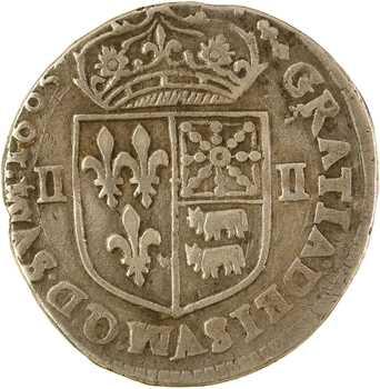 Henri IV, quart d'écu de Béarn, 1605 Pau