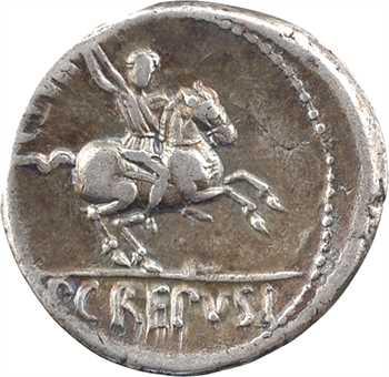 Crepusia, denier, Rome, 82 av. J.-C.