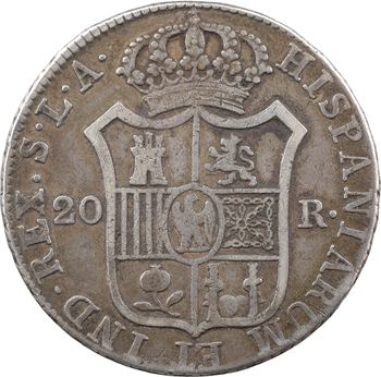 Espagne, Joseph Napoléon, 20 réaux, 1812 Séville