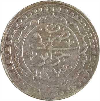 Algérie, Mahmud II, budju, AH 1237 (1821)