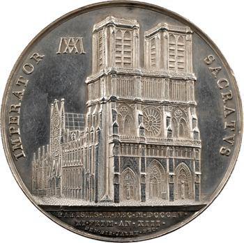 Premier Empire, le sacre de Napoléon Ier par Pie VII, An XIII (1804) Paris