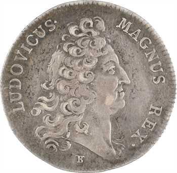 Louis XV, hommage à Louis XIV, s.d. (1715) Paris