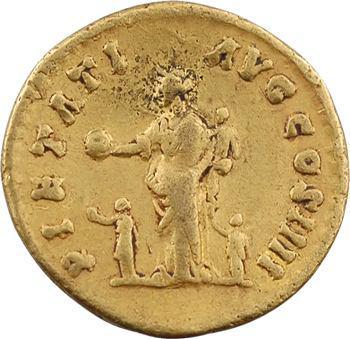Antonin le Pieux, aureus, Rome, 159-160