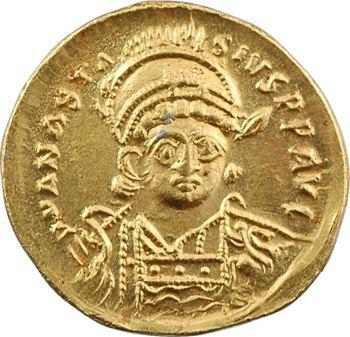 Anastase, solidus, Constantinople, 5e officine, 491-498