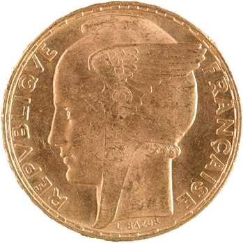 IIIe République, 100 francs Bazor, 1935 Paris