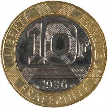 Ve République, 10 francs Génie, 1996 Pessac