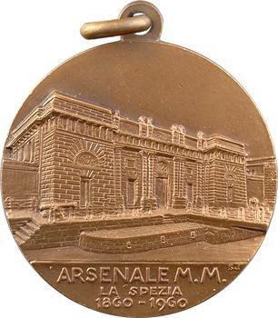 Italie, centenaire de la base navale la Spezia, 1860-1960