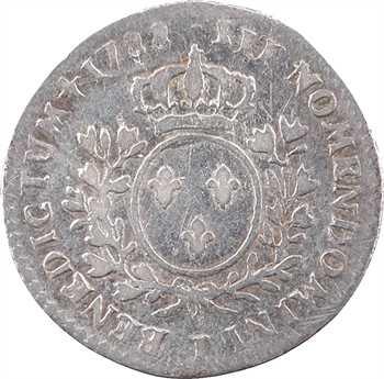 Louis XVI, dixième d'écu aux branches d'olivier, 1788 Limoges