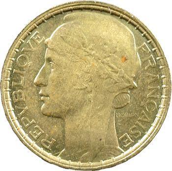 IIIe République, essai de cent francs par Morlon, bronze-aluminium, 1929